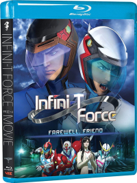 Infini-T Force: Farewell, Friend [Blu-ray]