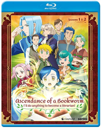 Ascendance of a Bookworm: Season 1+2 [Blu-ray]