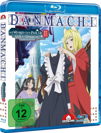 DanMachi: Is It Wrong to Try to Pick Up Girls in a Dungeon? - Familia Myth 2: Vol.3/4 [Blu-ray]