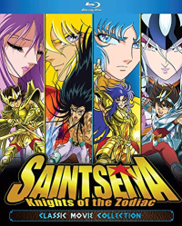Saint Seiya: Knights of the Zodiac - Classic Movie Collection (OwS) [Blu-ray] (4 Movies)