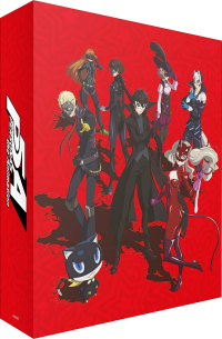 Persona 5: The Animation - Vol. 1/2: Collector's Edition [Blu-ray] + Artbox