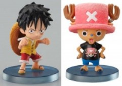 One Piece - Figuren: Monkey D. Luffy, Tony Chopper