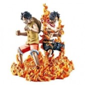 One Piece - Figur: Monkey D. Luffy, Portgas D. Ace