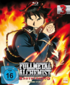 Fullmetal Alchemist: Brotherhood - Vol.3/8: Digipack [Blu-ray]