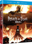 Attack on Titan: Season 1 - Part 1/2 [Blu-ray+DVD]