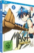 Magi: The Kingdom of Magic - Box 1/4 [Blu-ray]