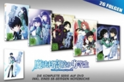 The Irregular at Magic High School - Komplettset + Notizblock