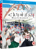 Article: Gatchaman Crowds Insight - Complete Collection [Blu-ray+DVD]