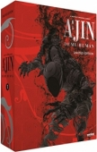 Ajin: Demi-Human - Season 1 - Complete Series + Movie 1: Limited Edition [Blu-ray+DVD] + Manga Vol. 01