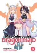 Miss Kobayashi's Dragon Maid - Vol.03