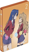 Toradora! - Vol.2/5:  Limited Steelbook Edition [Blu-ray]