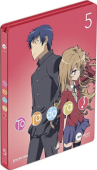 Toradora! - Vol.5/5: Limited Steelbook Edition [Blu-ray]