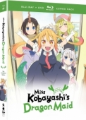 Miss Kobayashi's Dragon Maid: Season 1 [Blu-ray+DVD]