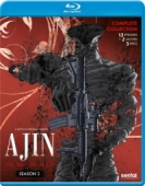 Ajin: Demi-Human - Season 2 - Complete Series + Movie 2 + 3 [Blu-ray]