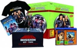 Mad Mission 1+5 (Uncut) - Collector's Edition [Blu-ray+DVD] + T-Shirt + Figur