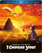 Pokémon - Movie 20: I Choose You! - Limited Steelbook Edition [Blu-ray]