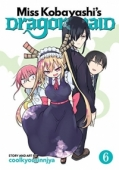 Miss Kobayashi's Dragon Maid - Vol.06: Kindle Edition