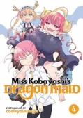 Miss Kobayashi's Dragon Maid - Vol.04: Kindle Edition