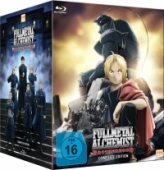 Fullmetal Alchemist: Brotherhood - Gesamtausgabe + OVAs: Collector's Edition [Blu-ray] + Artbook