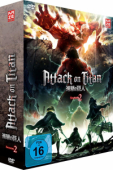 Attack on Titan: Staffel 2 - Vol. 1/2: Limited Edition + Sammelschuber