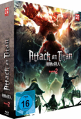 Attack on Titan: Staffel 2 - Vol. 1/2: Limited Edition [Blu-ray] + Sammelschuber