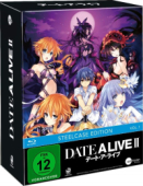 Date a Live II - Vol.1/3: Limited Steelcase Edition [Blu-ray] + Sammelschuber