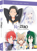 Re:Zero - Starting Life in Another World: Season 1 - Part 2/2 [Blu-ray+DVD]
