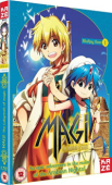Magi: The Labyrinth of Magic - Box 1/2 [Blu-ray]