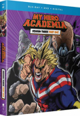 My Hero Academia: Season 3 - Part 1/2 [Blu-ray+DVD]