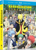 Assassination Classroom: Season 1 - Part 1/2 [Blu-ray+DVD]