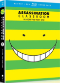 Assassination Classroom: Season 2 - Part 1/2 [Blu-ray+DVD]