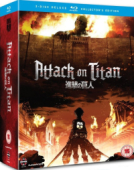 Attack on Titan: Season 1 - Part 1/2: Collector's Edition [Blu-ray] + Artbox