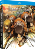 Attack On Titan: Season 1 - Complete Series [Blu-ray]
