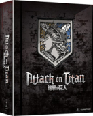 Attack on Titan: Season 1 - Part 2/2: Limited Edition [Blu-ray+DVD] + Artbox