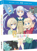 New Game!!: Season 2 [Blu-ray+DVD]