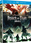 Attack on Titan: Season 2 - Complete Series [Blu-ray+DVD]
