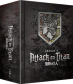 Attack on Titan: Season 3 - Part 1/2: Limited Edition [Blu-ray+DVD] + Artbox