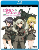 Girls & Panzer: This is the Real Anzio Battle! [Blu-ray+DVD]
