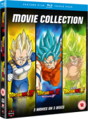 Dragon Ball: Movie Collection - Battle of Gods + Resurrection F + Broly [Blu-ray]