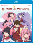 The World God Only Knows: Season 1-3 - Complete Series + OVAs [Blu-ray]