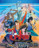 Lupin the 3rd: Bye Bye, Lady Liberty [Blu-ray]