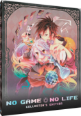 No Game No Life - Complete Series + Movie: Collector's Steelbook Edition [Blu-ray]