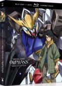 Mobile Suit Gundam: Iron-Blooded Orphans - Season 1: Part 1/2 [Blu-ray+DVD]