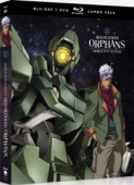 Mobile Suit Gundam: Iron-Blooded Orphans - Season 1: Part 2/2 [Blu-ray+DVD]