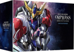 Mobile Suit Gundam: Iron-Blooded Orphans - Season 2: Limited Edition [Blu-ray+DVD] + Artbox + Figure