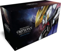 Mobile Suit Gundam: Iron-Blooded Orphans - Season 1: Limited Edition [Blu-ray+DVD] + Artbox + Figure