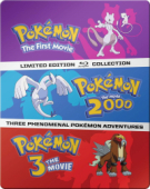 Pokémon - Movie 01-03: Limited Steelbook Edition [Blu-ray]