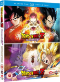 Dragon Ball Z - Movie 14+15: Battle of Gods + Resurrection 'F' [Blu-ray]