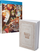 The Rising of the Shield Hero: Season 1 - Part 2/2: Limited Edition [Blu-ray+DVD] + Book