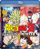 Dragon Ball Z - Movie 08+10: Broly, the Legendary Super Saiyan + Broly: Second Coming [Blu-ray]